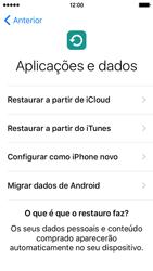 Apple iPhone 5s iOS 9 - Primeiros passos - Como ligar o telemóvel pela primeira vez -  16