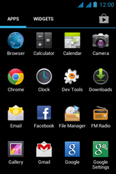 Acer Liquid Z2 - Email - Sending an email message - Step 3