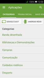 Alcatel Pixi 3 - Aplicações - Como pesquisar e instalar aplicações -  6