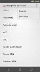 Sony Xperia M2 - Mensajería - Configurar el equipo para mensajes multimedia - Paso 15