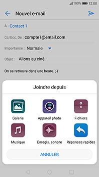 Huawei P10 Plus - E-mail - Envoi d