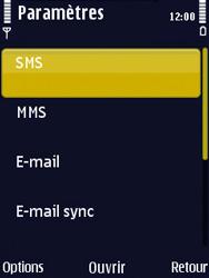 Nokia N86 - SMS - Configuration manuelle - Étape 5