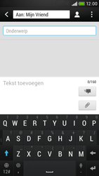 HTC Desire 601 - MMS - afbeeldingen verzenden - Stap 10