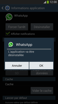 Samsung Galaxy Note 3 - Applications - Supprimer une application - Étape 8