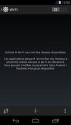 Acer Liquid Jade - WiFi et Bluetooth - Configuration manuelle - Étape 5