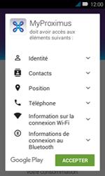 Huawei Y3 - Applications - MyProximus - Étape 8