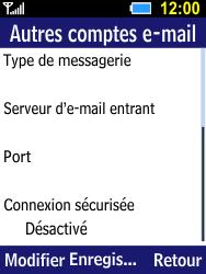 Samsung B550H Xcover 550 - E-mail - Configuration manuelle - Étape 12