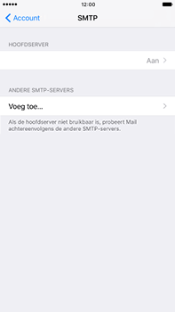 Apple Apple iPhone 6 Plus iOS 10 - E-mail - Handmatig instellen - Stap 24