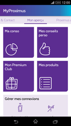 Sony Xperia Z1 Compact D5503 - Applications - MyProximus - Étape 15