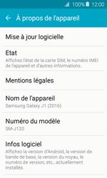 Samsung Galaxy J1 - Réseau - Installation de mises à jour - Étape 6