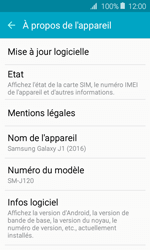 Samsung J120 Galaxy J1 (2016) - Appareil - Mises à jour - Étape 6