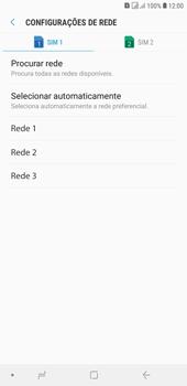 Samsung J4+ - Rede móvel - Como selecionar o tipo de rede adequada - Etapa 10