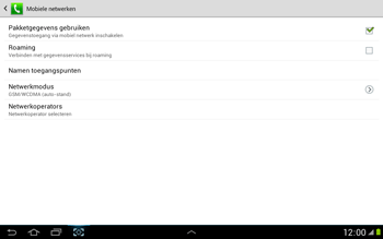 Samsung N8000 Galaxy Note 10-1 - Bellen - in het buitenland - Stap 6
