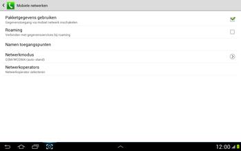 Samsung N8000 Galaxy Note 10-1 - Buitenland - Bellen, sms en internet - Stap 7