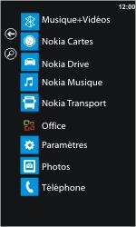 Nokia Lumia 610 - Wifi - configuration manuelle - Étape 2