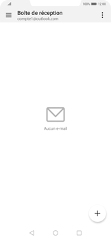 Huawei Mate 20 Pro - E-mail - 032c. Email wizard - Outlook - Étape 8