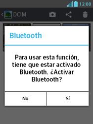 LG Optimus L3 II - Bluetooth - Transferir archivos a través de Bluetooth - Paso 9