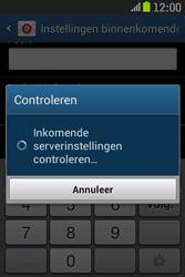 Samsung S6310 Galaxy Young - E-mail - e-mail instellen: IMAP (aanbevolen) - Stap 12