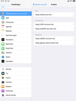 Apple ipad-air-ios-12 - E-mail - Account instellen (IMAP zonder SMTP-verificatie) - Stap 6