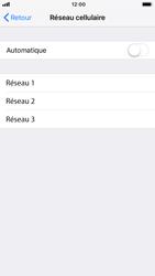 Apple iPhone 7 - iOS 12 - Réseau - Sélection manuelle du réseau - Étape 6
