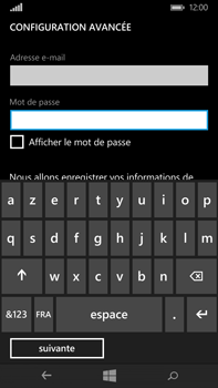 Microsoft Lumia 640 XL - E-mail - Configuration manuelle - Étape 9