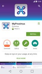 LG X Screen - Applications - MyProximus - Step 7