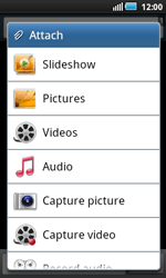 Samsung I5800 Galaxy Apollo - Mms - Sending a picture message - Step 6