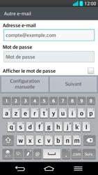 LG G2 - E-mail - Configuration manuelle - Étape 6