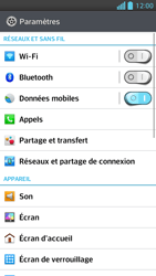 LG P875 Optimus F5 - Messagerie vocale - configuration manuelle - Étape 5