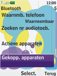 Nokia 7310 supernova - Bluetooth - Headset, carkit verbinding - Stap 6