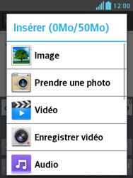LG E430 Optimus L3 II - E-mail - envoyer un e-mail - Étape 10