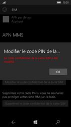 Microsoft Lumia 550 - Sécuriser votre mobile - Personnaliser le code PIN de votre carte SIM - Étape 10