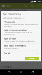 HTC One M8 - Applications - MyProximus - Step 9