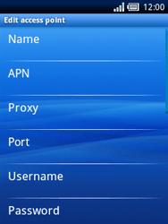 Sony Ericsson Xperia X10 Mini - Internet - Manual configuration - Step 8