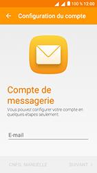 Alcatel U5 - E-mails - Ajouter ou modifier un compte e-mail - Étape 5