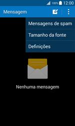 Samsung Galaxy Trend 2 Lite - SMS - Como configurar o centro de mensagens -  5