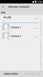 Huawei Ascend Y530 (Model Y530-U00) - Contacten en data - Contacten kopiëren van SIM naar toestel - Stap 6