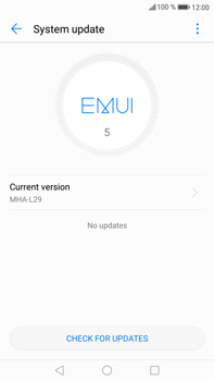 Huawei Mate 9 - Network - Installing software updates - Step 7