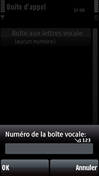 Nokia 5800 Xpress Music - Messagerie vocale - configuration manuelle - Étape 8
