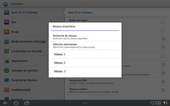 Samsung P7500 Galaxy Tab 10-1 - Réseau - utilisation à l'étranger - Étape 10