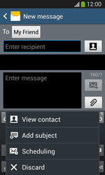 Samsung I8200 Galaxy SIII Mini Lite - Mms - Sending a picture message - Step 9