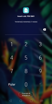 LG K12+ - Primeiros passos - Como ativar seu aparelho - Etapa 3
