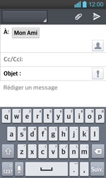 LG Optimus L7 II P710 - E-mail - Envoi d