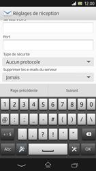 Sony Xpéria Z - E-mails - Ajouter ou modifier un compte e-mail - Étape 9