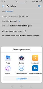 Huawei P20 Pro Dual-SIM (Model CLT-L29) - E-mail - Bericht met attachment versturen - Stap 10