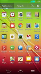 LG G2 - SMS - Configuration manuelle - Étape 3
