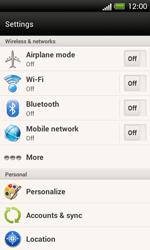 HTC C525u One SV - MMS - Manual configuration - Step 4