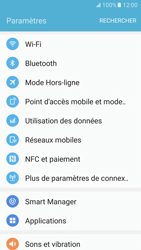 Samsung Galaxy S7 - Internet et connexion - Partager votre connexion en Wi-Fi - Étape 4