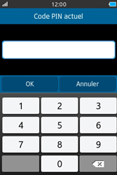 Samsung Wave M - Sécuriser votre mobile - Personnaliser le code PIN de votre carte SIM - Étape 7