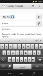 Sony C6603 Xperia Z - E-mail - envoyer un e-mail - Étape 9